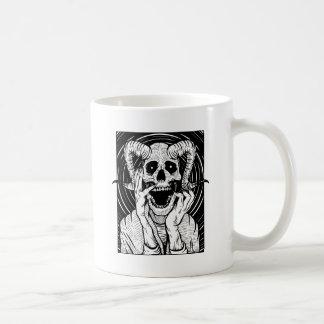 duivels gezicht koffiemok