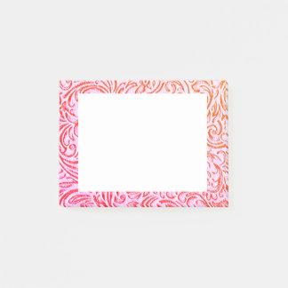 Duizendblad Roze Vintage Bloemen Grafische Post-it® Notes