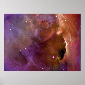Duizenden van NASA van de Nevel van Orion sterren Poster