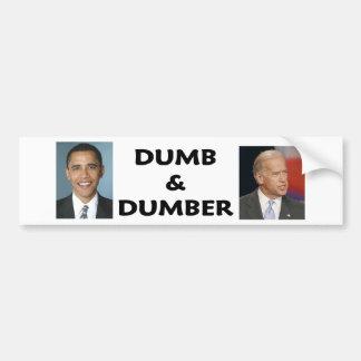 dumb2 bumpersticker