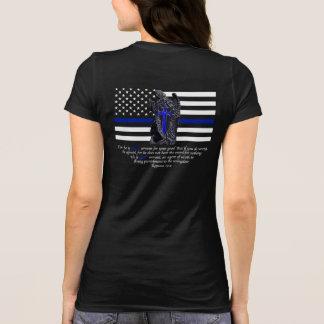 Dun Blue Line Michael de Aartsengel T Shirt