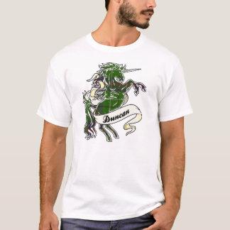 Duncan Tartan Unicorn T Shirt