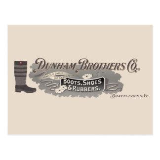 Dunham Bros. Co., Brattleboro, VT het Briefkaart