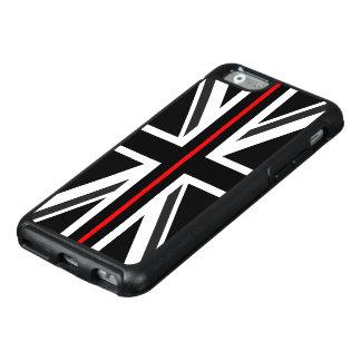 Dunne Rode Britse van de Lijn Vlag OtterBox iPhone 6/6s Hoesje