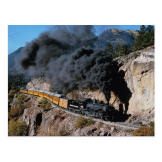 Durango en Silverton de Spoorweg, Nr 481, draagt Briefkaart