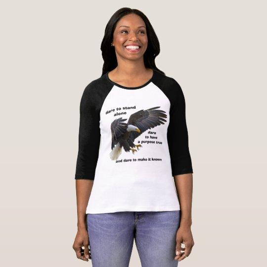 Durf me de Alleen, Amerikaanse Kale Uitgave van T Shirt