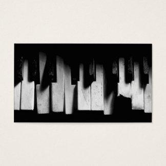 Durf om het Visitekaartje van de Piano te dromen Visitekaartjes