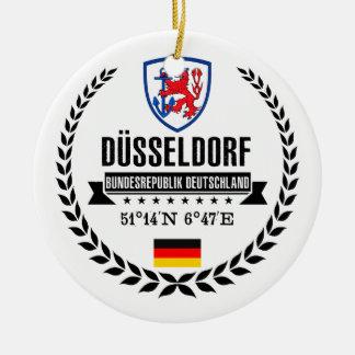 Düsseldorf Rond Keramisch Ornament