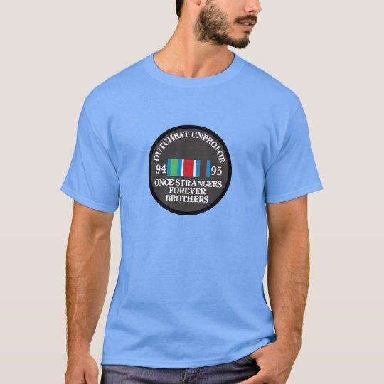 Dutchbat UNPROFOR Forever Brothers T Shirt
