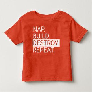 Dutje. Bouw. Vernietig. Herhaal. Het Overhemd van Kinder Shirts