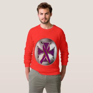 DwarsRaglan van het alvleesklier- Ijzer van Kanker Sweater