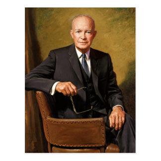 Dwight D. Eisenhower Briefkaart