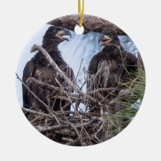 E10 & E11Ornament Rond Keramisch Ornament