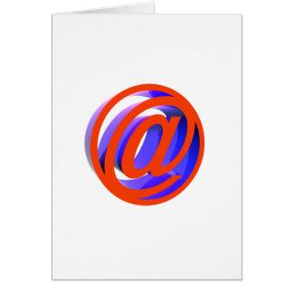 E-mail pictogram kaart
