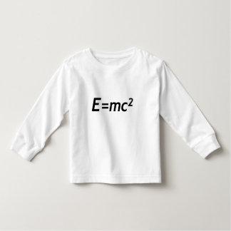 E=mc2 Fysica van de Snelheid van de Kinder Shirts