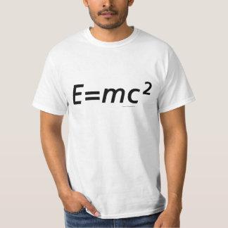 E=mc2 (Geen Franjes) T Shirt