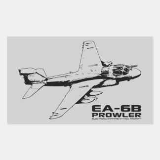 Ea-6B sluiper Rechthoekvormige Sticker