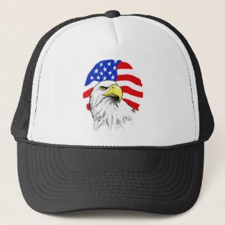 Eagle met Vlag Trucker Pet