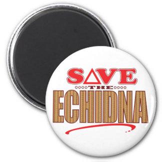 Echidna spaart ronde magneet 5,7 cm