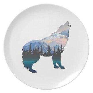 Echo van Yellowstone Melamine+bord
