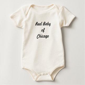 Echt baby van Chicago: Een grote Gift! Baby Shirt