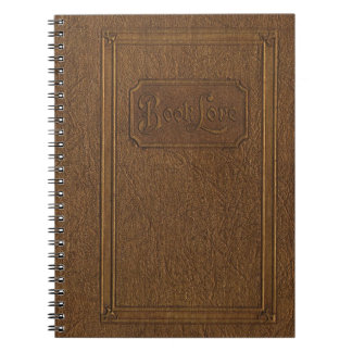 Echt eruit ziet de wijnoogst: oud, versleten leer ringband notitieboek