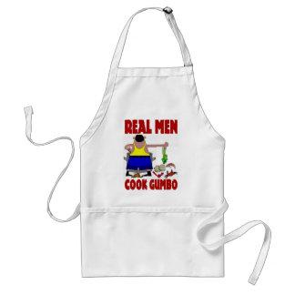 Echt Man Cook Gumbo Standaard Schort
