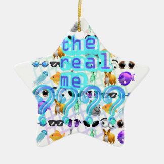 Echt me keramisch ster ornament