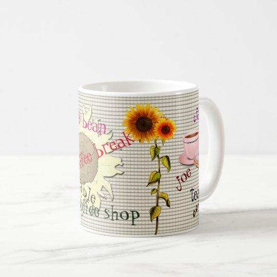 Echte koffiekop koffiemok