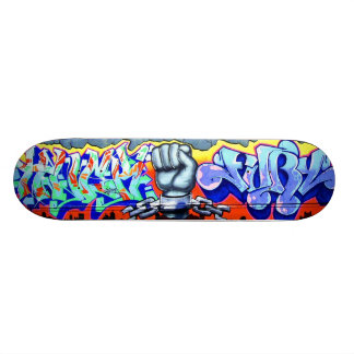 Echte Skateboards Graffiti