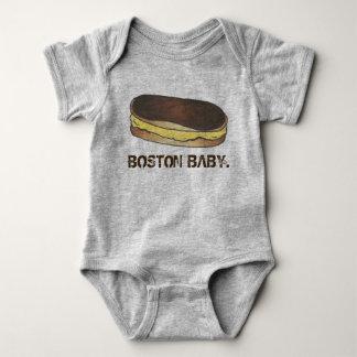 Eclair Foodie van de Pastei van de Room van Boston Romper