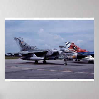 ECR van de tornado Duitse Luchtmacht Poster