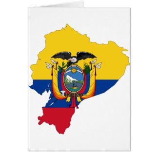 Ecuador de EG Kaart