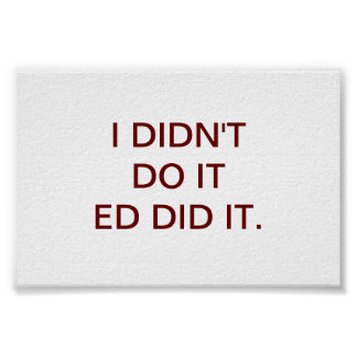 ED DEED HET POSTER