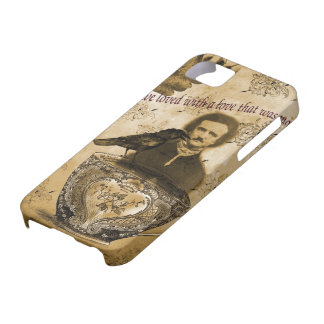Edgar Allan Poe Barely There iPhone 5 Hoesje