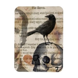 Edgar Allan Poe de Magneet van de Raaf