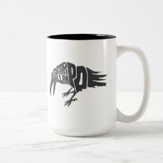 Edgar Allan Poe - de Raaf Tweekleurige Koffiemok