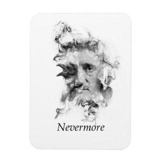 Edgar Allan Poe in Rook met Raaf - Nevermore Magneet