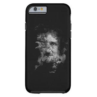 Edgar Allan Poe in Rook met Raaf Tough iPhone 6 Hoesje