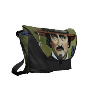 Edgar Allan Poe Messenger Bag
