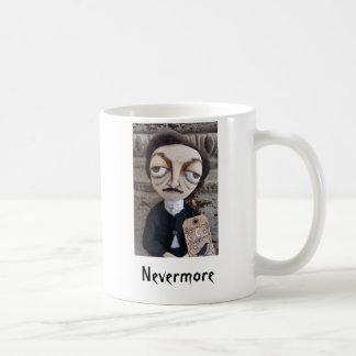 Edgar Allan Poe overvalt Nevermore Koffiemok