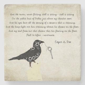 Edgar Allen Poe Stone Coaster Stenen Onderzetter