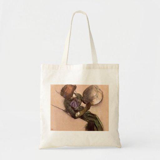 Edgar Degas - de modiste Draagtassen