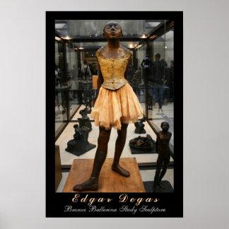 Edgar Degas: De Studie van de Ballerina van het Poster