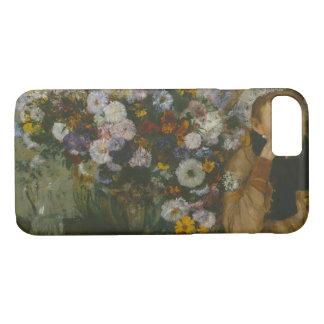 Edgar Degas - een Vrouw Gezet naast een Vaas iPhone 8/7 Hoesje