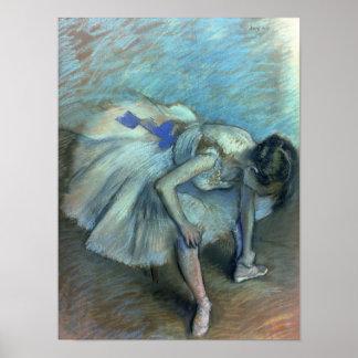 Edgar Degas | Gezette Danser, c.1881-83 Poster