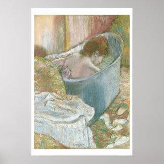 Edgar Degas | het Bad Poster