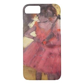 Edgar Degas het Roze Hoesje van iPhone van Dansers