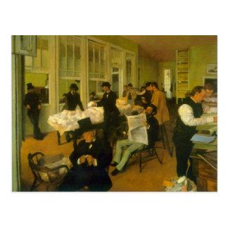Edgar Degas - Katoenen Uitwisseling Briefkaart