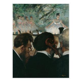 Edgar Degas   Musici van het Orkest Briefkaart